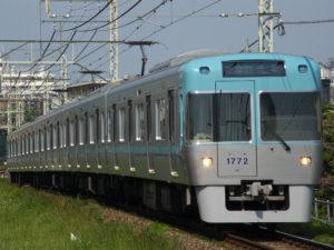 下高井戸  電車