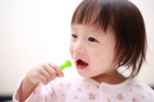 子供の歯磨き_赤ちゃん