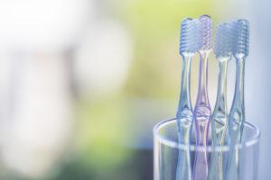 舌磨き_方法の歯ブラシ